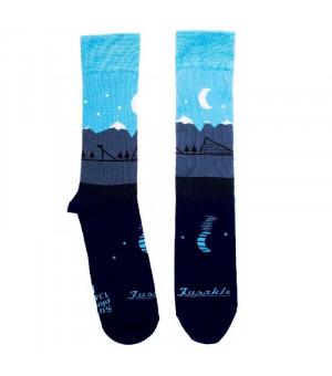 Fusakle Ponožky Štrbské Pleso modré