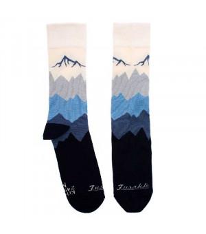 Fusakle Kriváň ponožky bielomodré