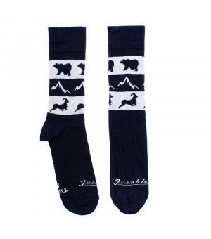 Fusakle Vysoké Tatry ponožky modré