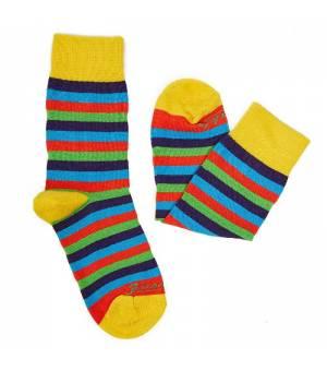 Fusakle Detský Multikulturalista ponožky farebné