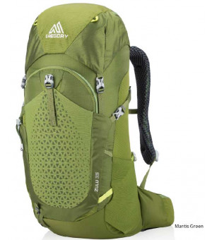 Gregory Zulu 35l batoh Mantis Green
