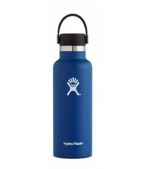 Hydro Flask 18 OZ Standard mouth With Flex Cap Cobalt fľaša