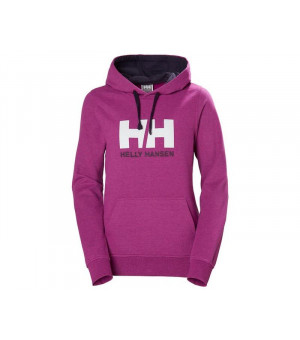 Helly Hansen Logo Hoodie W Mikina ružová