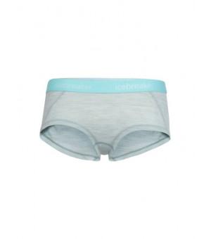 Icebreaker Sprite Hot Pants W Nohavičky modré