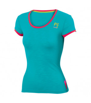 Karpos Profili Lite W bluebird/raspberry tričko