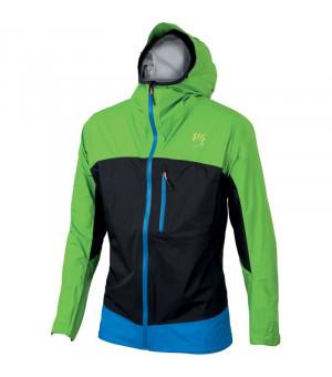 Karpos Lot Rain apple green/black/bluette bunda