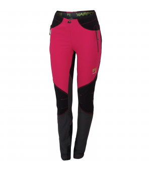 Karpos Rock W Pant raspberry/black/dark grey nohavice
