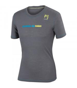 Karpos Profili M Jersey lead grey/bluette tričko