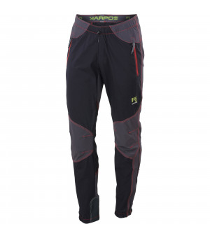 Karpos Rock M Pant black/dark grey/red nohavice