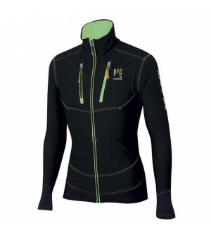 Karpos Alagna M Jacket black/green fluo bunda