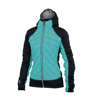 Karpos Lastei Active Plus W Jacket bluebird/black bunda