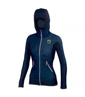 Karpos Alagna Plus W Jacket insignia blue/sky captain bunda