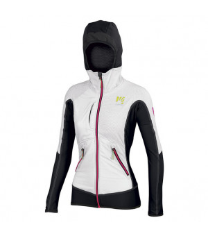 Karpos Alagna Plus W Jacket white/black bunda