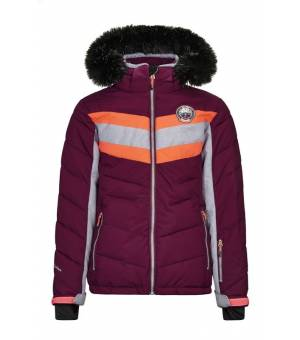 Killtec Jayce Jr Jacket Dark Plum bunda