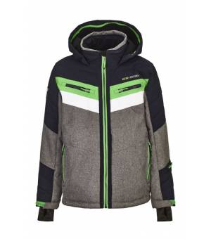 Killtec Polk Jr Hybrid Jacket Grey Melange bunda