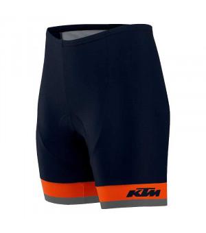 KTM Factory Line cyklistické šortky čierne