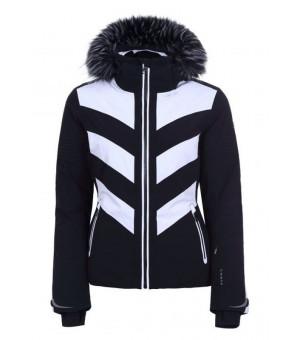 Luhta Jalonoja L7 Black/White bunda