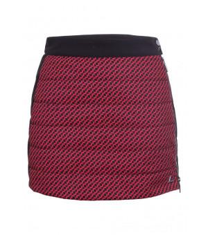 Luhta Joutseno Ladies Skirt Red sukňa
