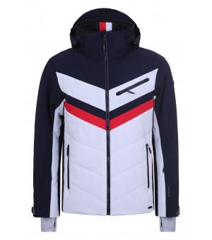 Luhta Kaavi Mens Jacket Navy Blue/White bunda