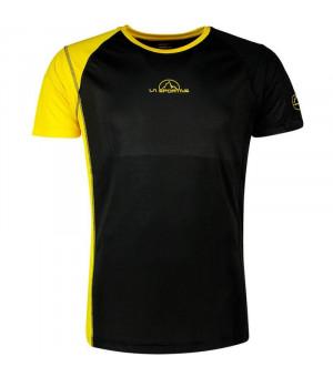 La Sportiva Event Tee black/yellow tričko