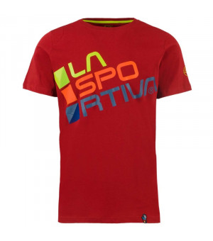 La Sportiva Square T-Shirt M chili tričko