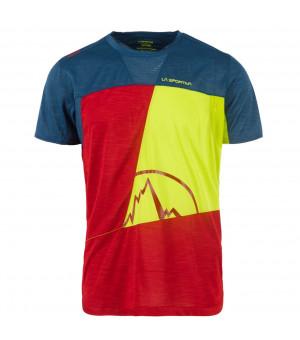 La Sportiva Workout T-Shirt M chili/opal tričko