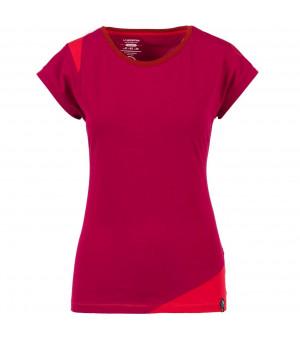 La Sportiva Chimney T-Shirt W beet/garnet tričko