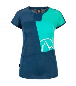 La Sportiva Push T-Shirt W opal/aqua tričko