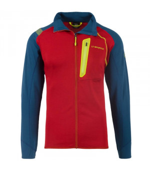 La Sportiva Shamal Jacket M opal/chili mikina