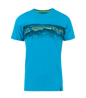 La Sportiva Landscape T-Shirt M tropical blue tričko