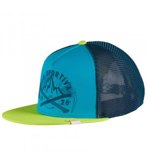 La Sportiva Hipster Tucker apple green/tropic blue šiltovka