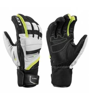 Leki Glove Griffin Prime S White/Black/Yellow rukavice