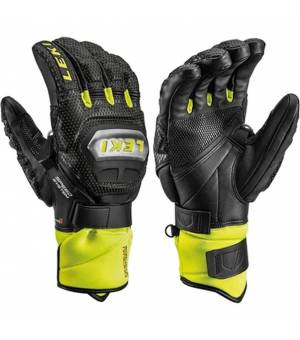 Leki Glove Worldcup Race TI S Black/Ice Lemon rukavice