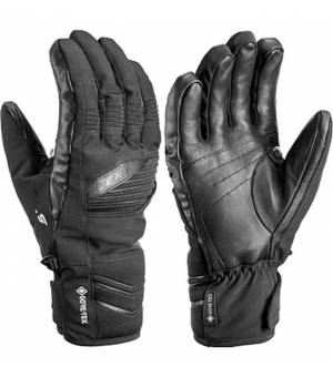 Leki Glove Ergo S GTX Black rukavice