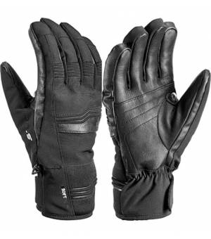 Leki Glove Cerro S Black rukavice