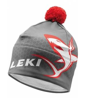 Leki XC Shark Hat Red čiapka