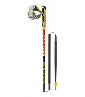 Leki Micro Trail Race palice 135 Neonred/Darkred/Grey/White 2019