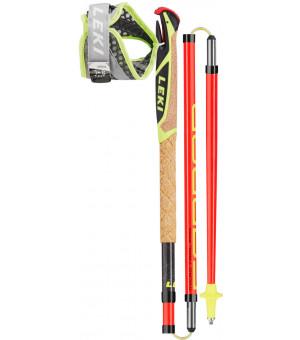 Leki Micro Trail Pro Palice 115 cm Neonred/Black/Neonyellow 2019