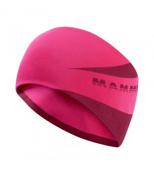 Mammut Serting Headband pink/dark pink čelenka