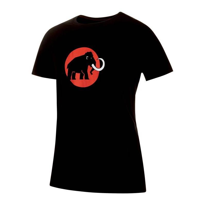 690dbca3dfe2 Pánske bavlnené tričko MAMMUT LOGO čierne