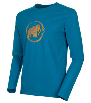 Mammut Logo M Longsleeve sapphire tričko