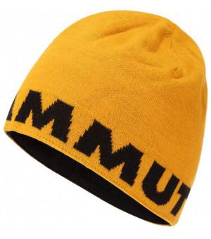 Mammut Logo Beanie golden/black čiapka