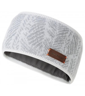 Mammut Snow Headband bright white/highway čelenka