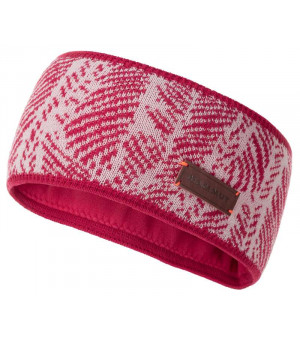 Mammut Snow Headband dragon fruit/blush čelenka