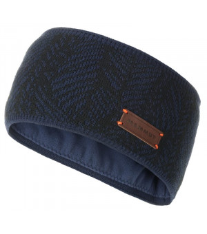 Mammut Snow Headband peacoat/black čelenka