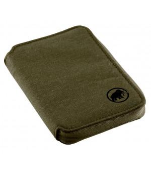 Mammut Zip Wallet Melange olive peňaženka