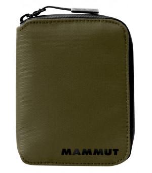 Mammut Seon Zip Wallet olive peňaženka