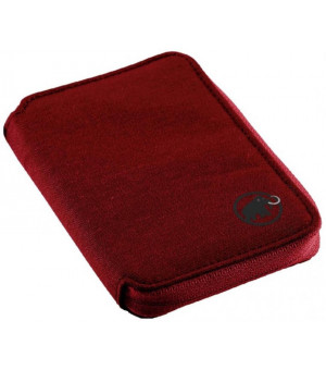 Mammut Zip Wallet Melange dark lava peňaženka