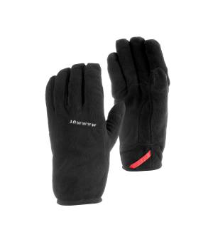 Mammut Fleece Glove black rukavice