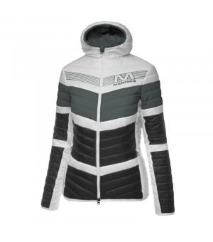 Martini Stormwall Jacket W Bunda White/grey/black
